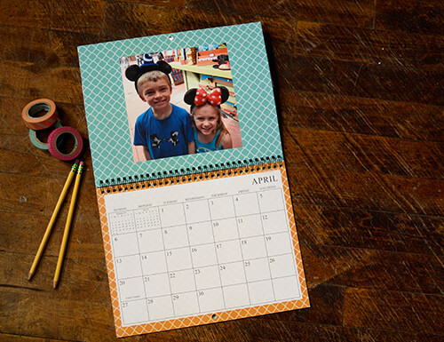 Custom Photo Calendars