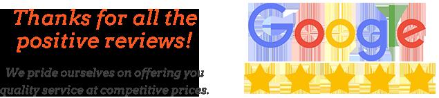 Google 5 star review logo