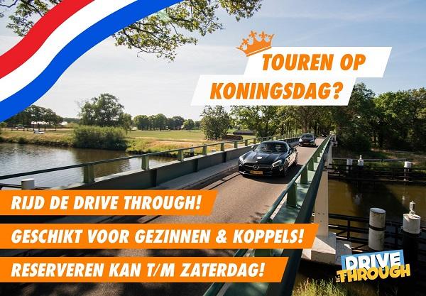 Touren door Twente op Koningsdag