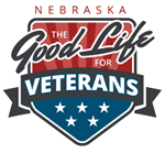 Nebraska the Good Life for Veterans logo