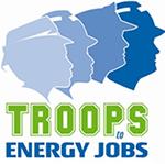 军队到能源工作的标志