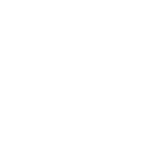 Equal sign on white background