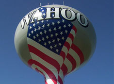 Wahoo water tower