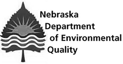 内布拉斯加州环境质量部门标志