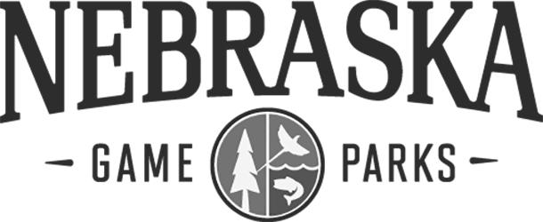 内布拉斯加比赛和公园的标志