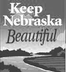 保持内布拉斯加美丽的标志