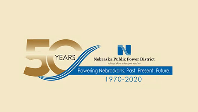 NPPD 50周年纪念标志
