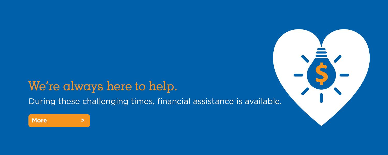financial assistance slide