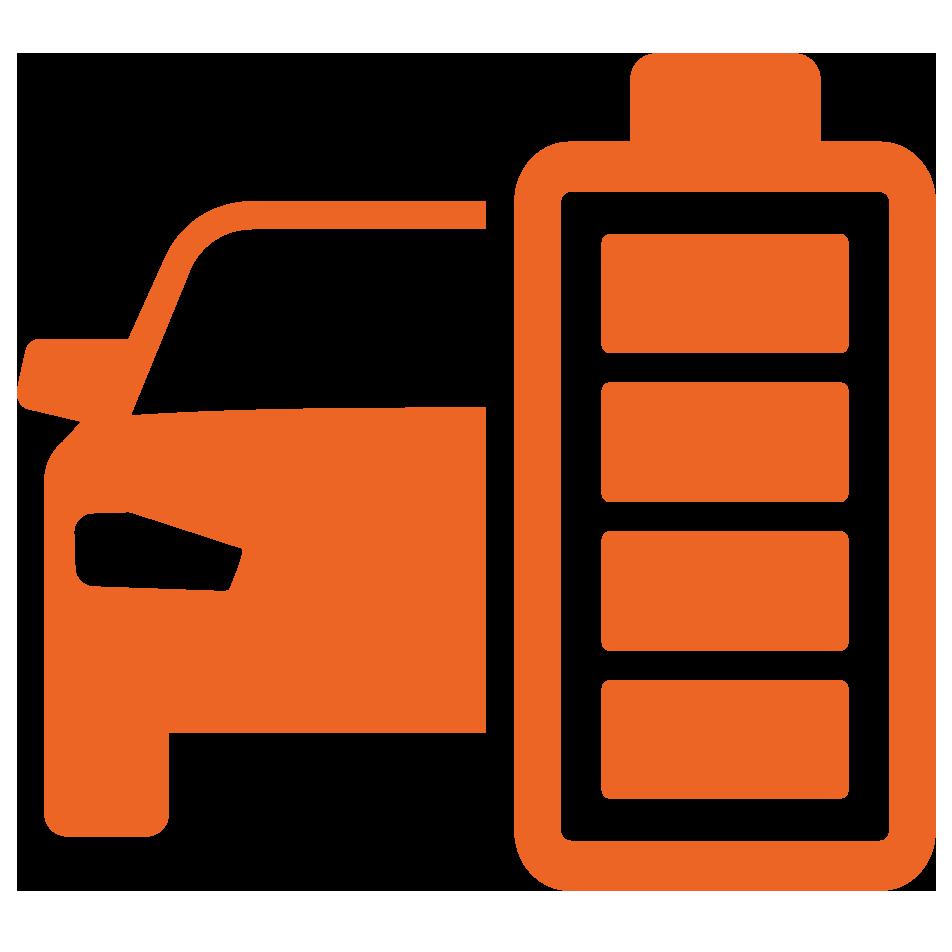 Electric Vehicle Icon