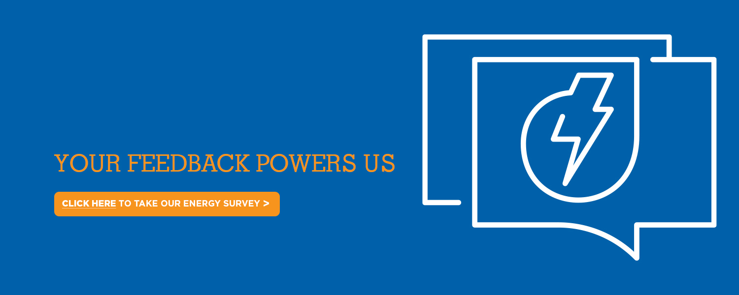 Click to Take Our Energy Survey