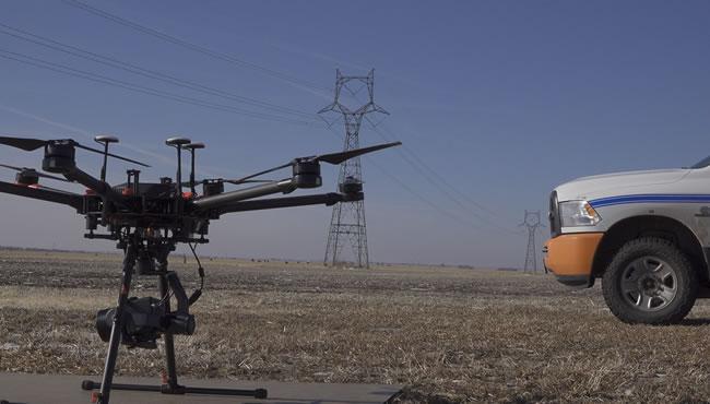 Drone work in Northeast Nebraska