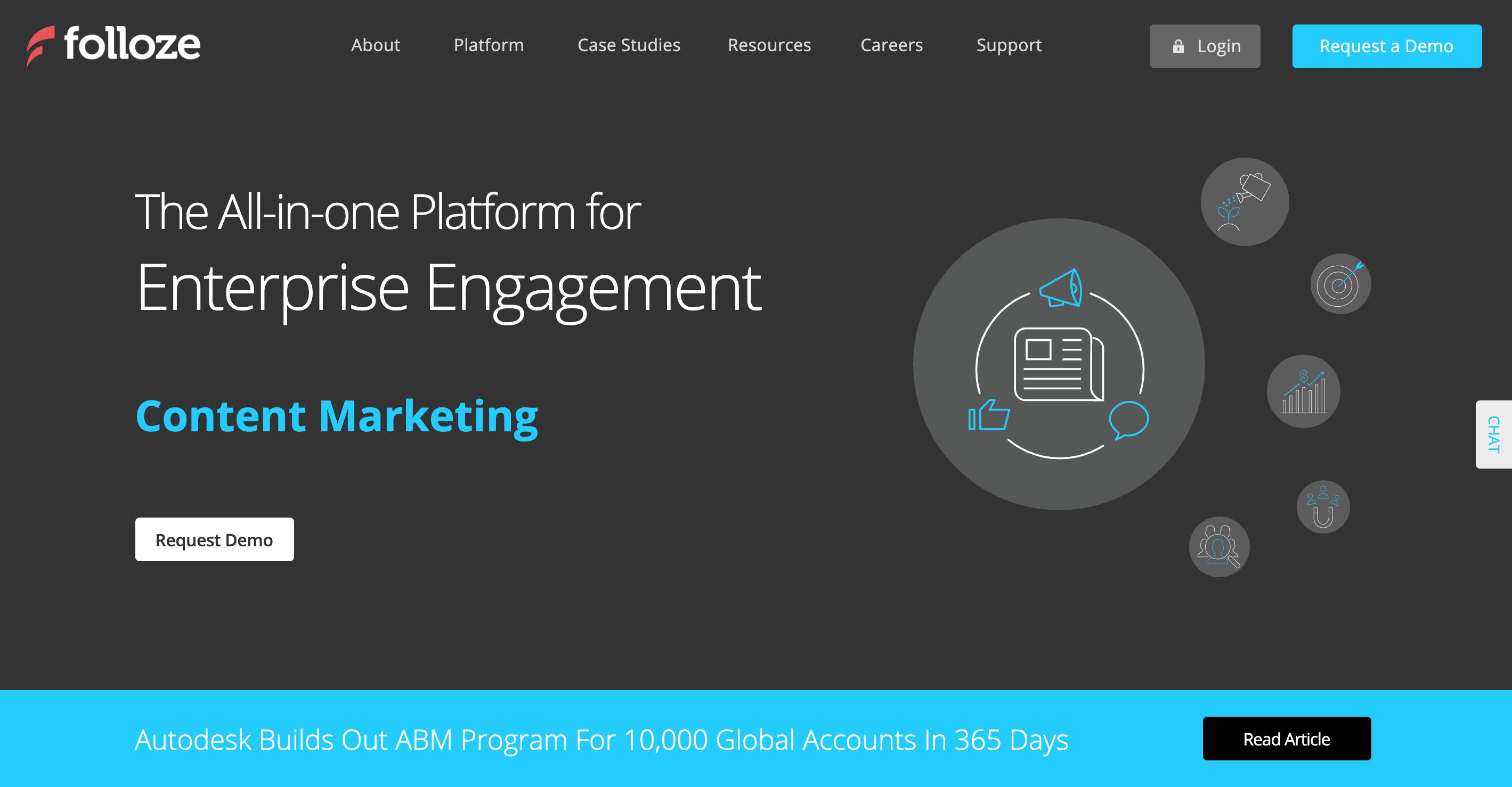 Folloze Enterprise Engagement at Scale