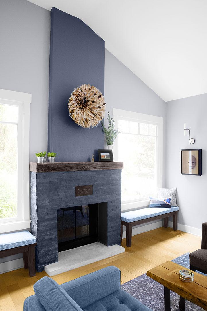 Fireplace design in Oakland, CA