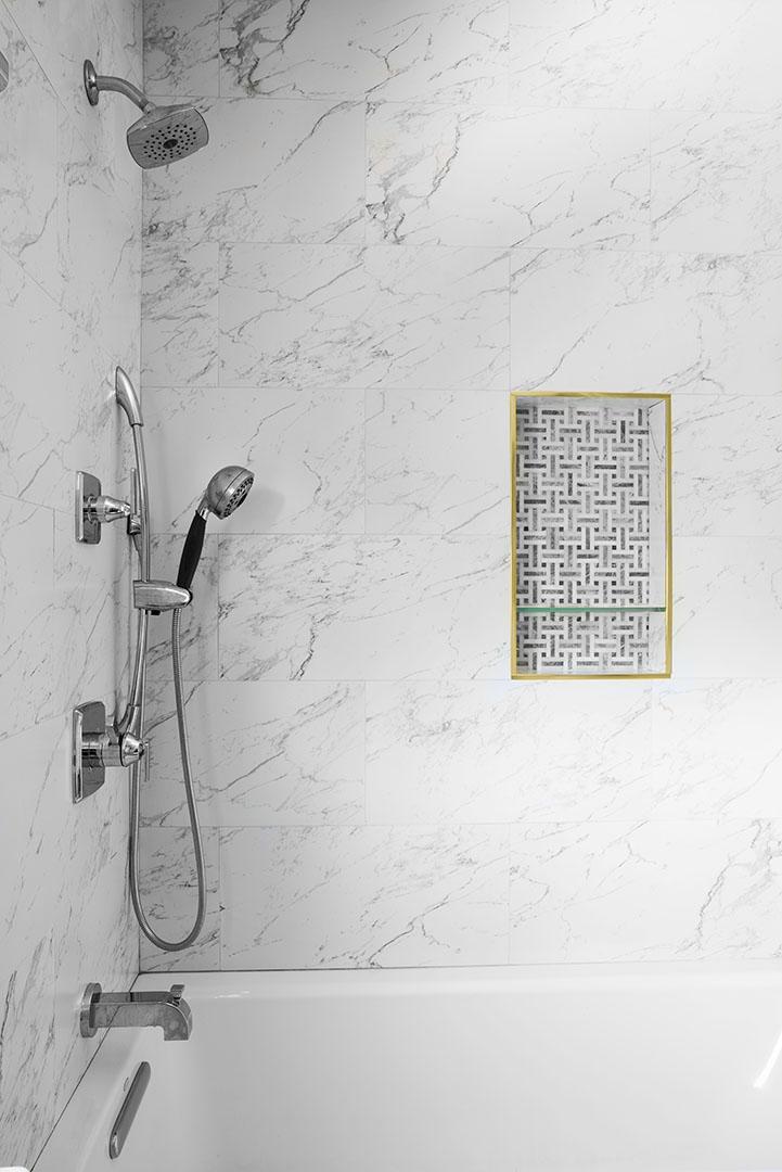 Oakland bathroom shower room design