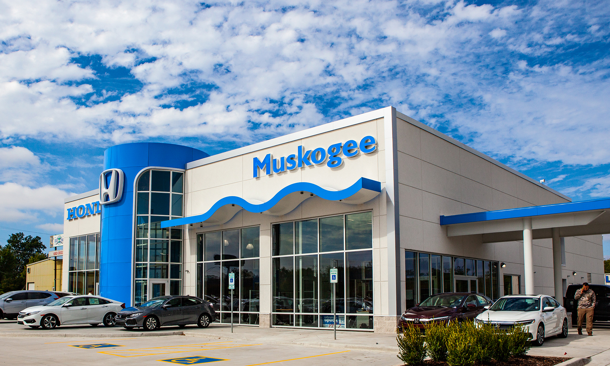 Photo of Muskogee Honda facility exterior