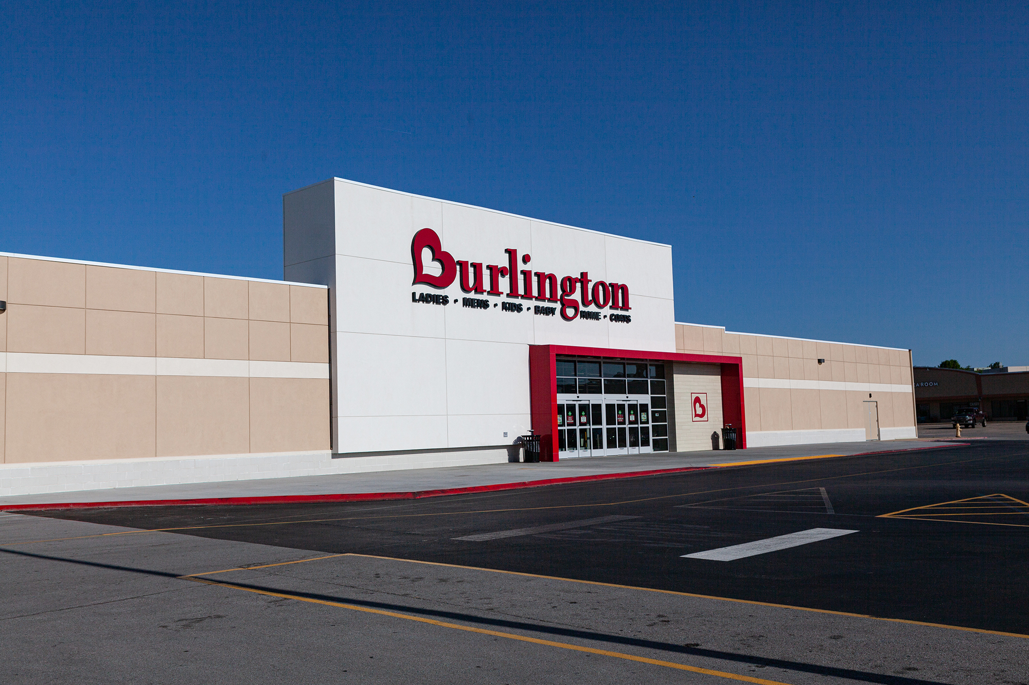 Photo of Burlington store exterior