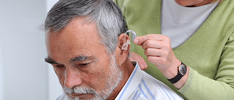 A fitting for the right hearing aids can be the key to solving tinnitis.
