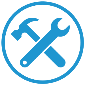 Icon Wrench + Hammer