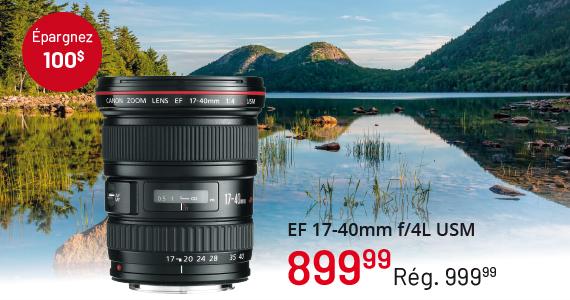 EF 17-40mm f/4L USM