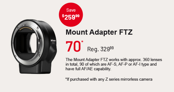 Mount Adapter FTZ