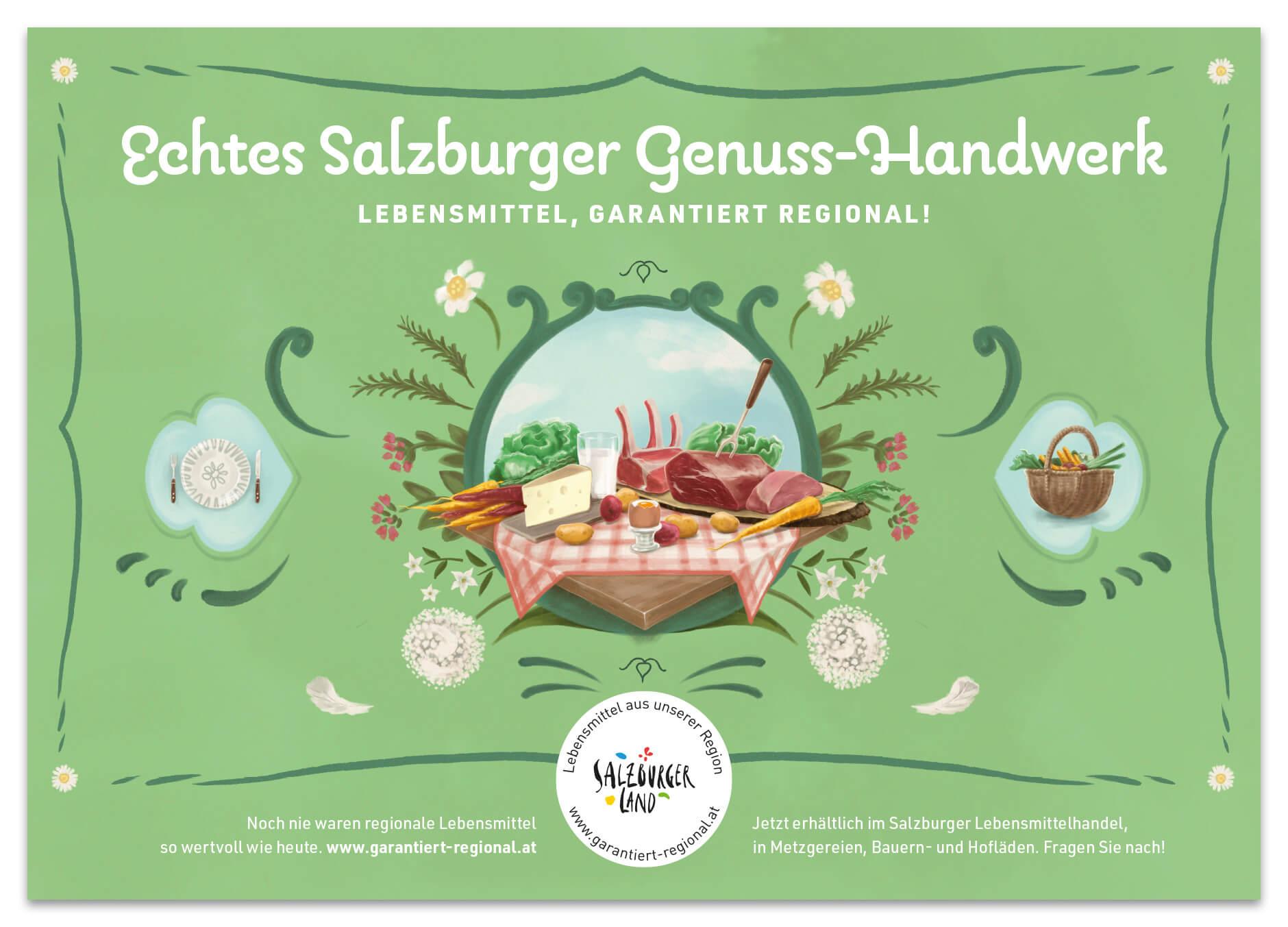 Salzburger Agrarmarketing Kampagne