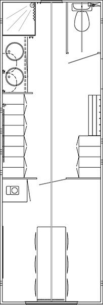 Staff cabin 730