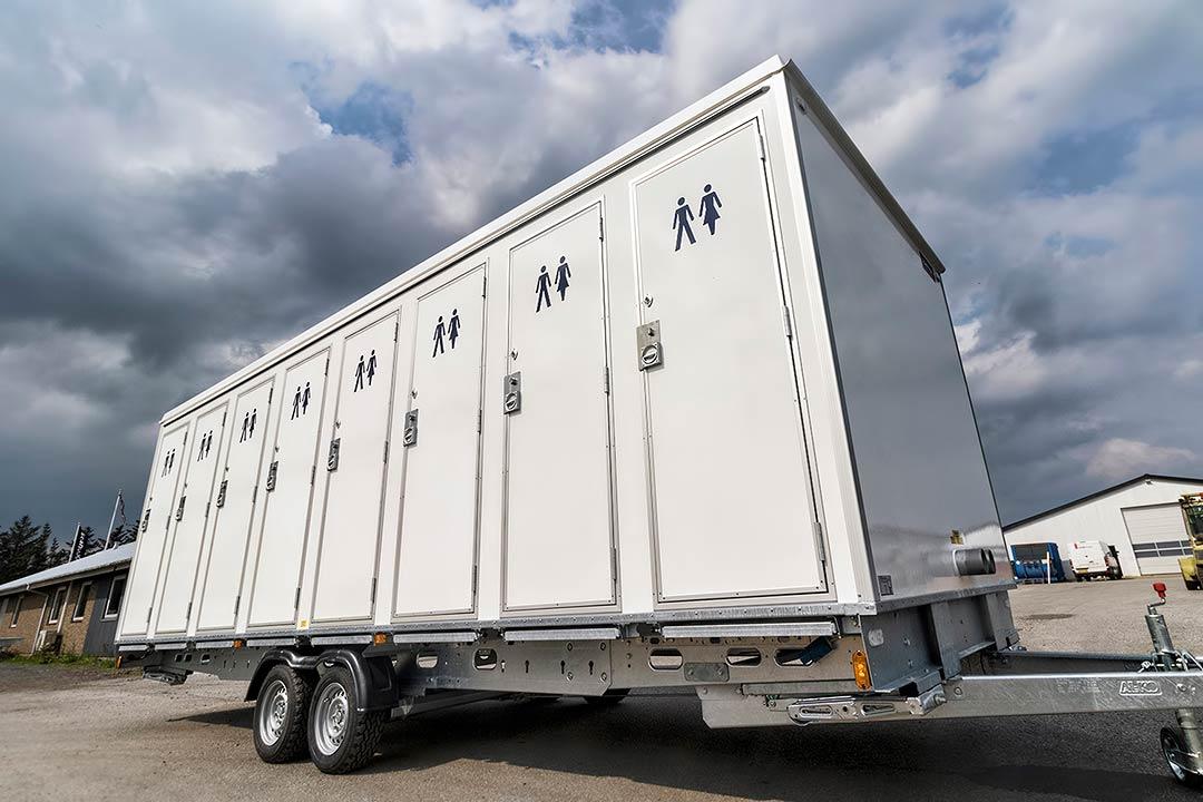 Scanvogn toilet cabin 16 people 08