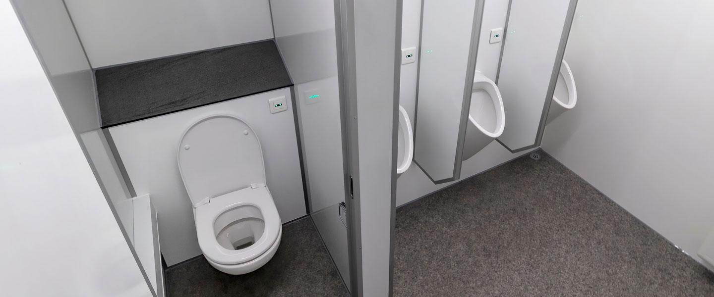 Scanvogn toilet house