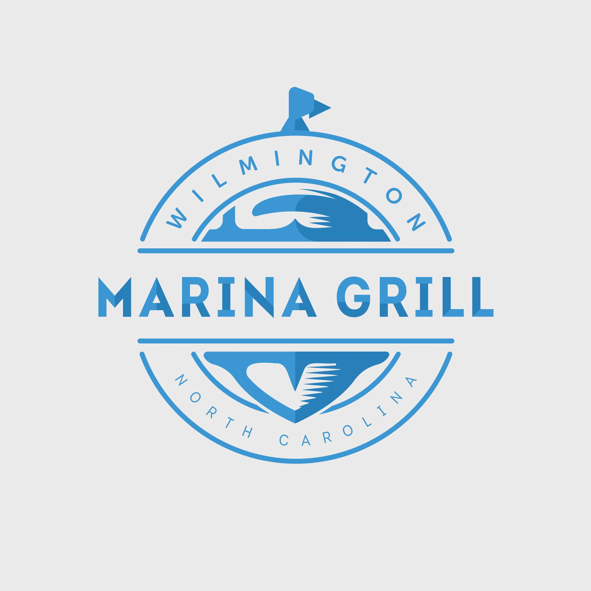 Marina Grill Logo Design by Brand Engine