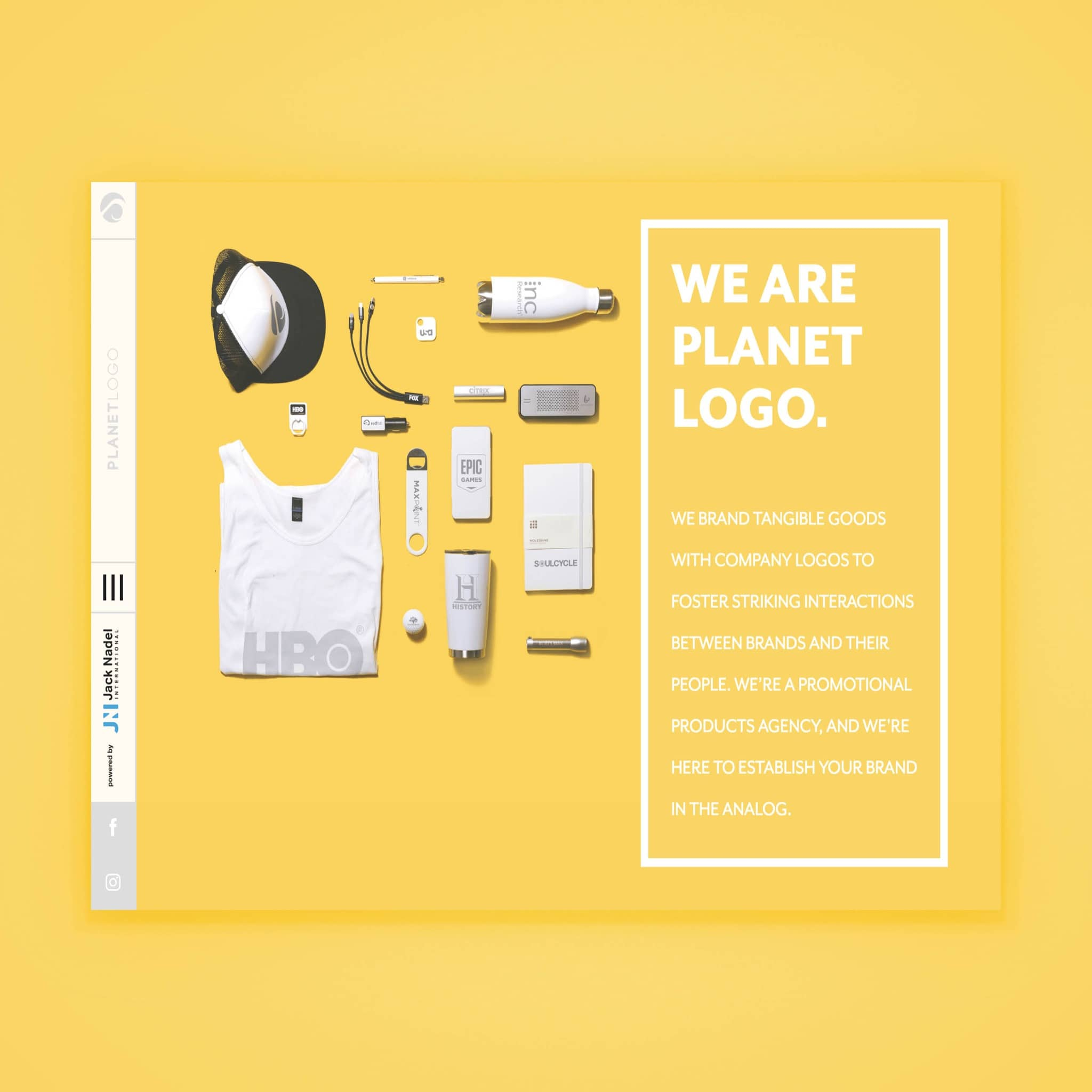 Planet Logo Website Design by Brand Engine