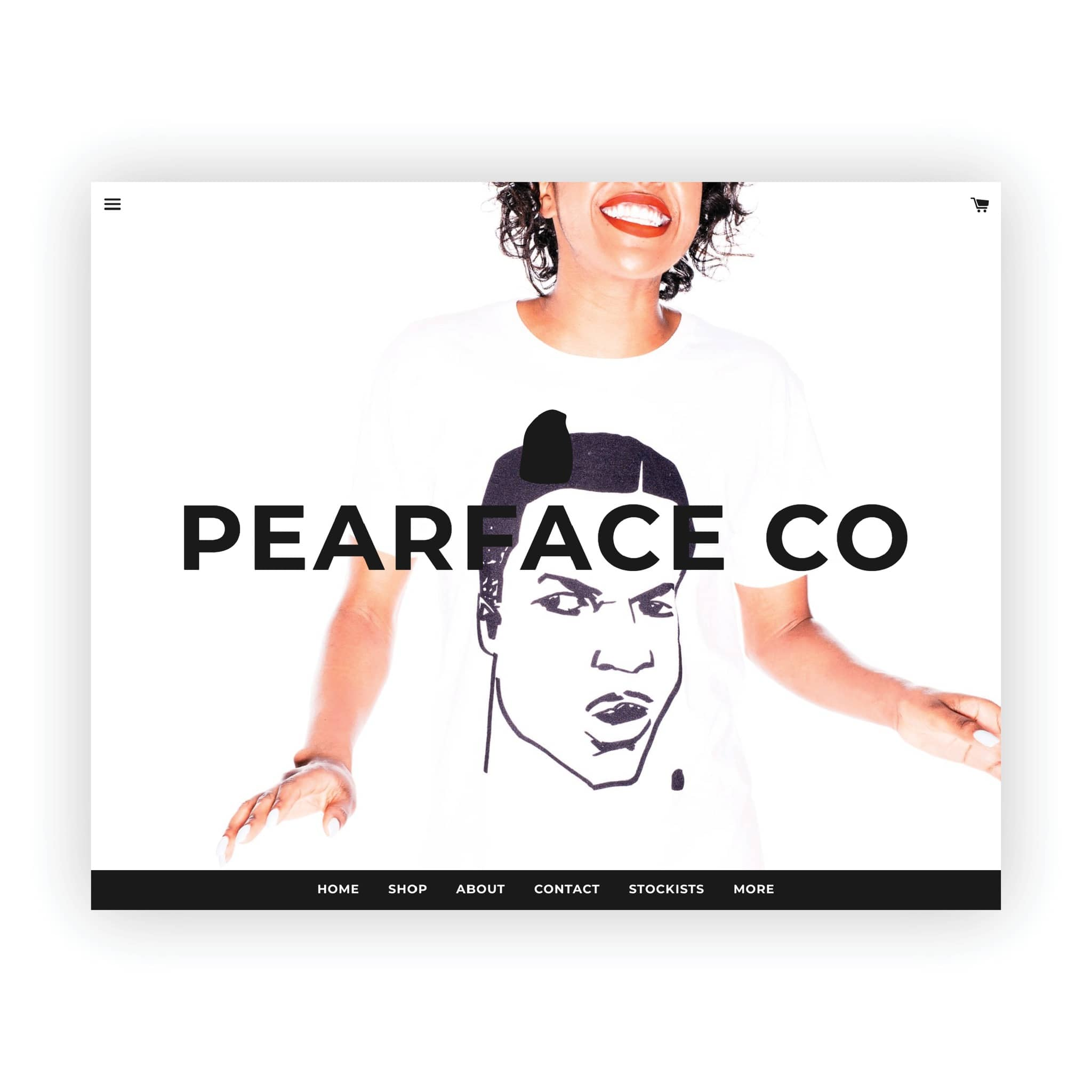 Pearface Co - website desgin by Brand Engine