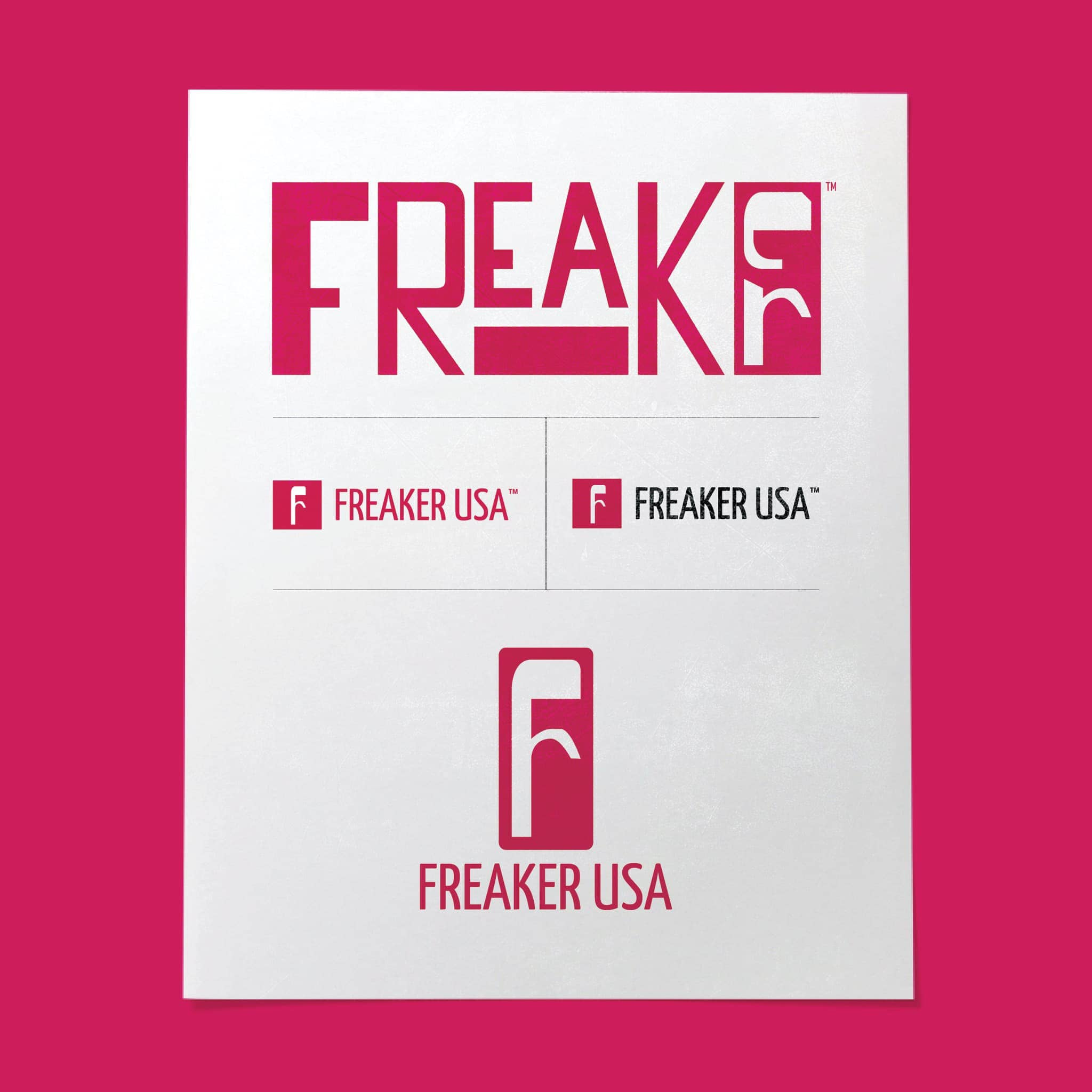 Freaker USA Brand and Logo Design By Brand Engine