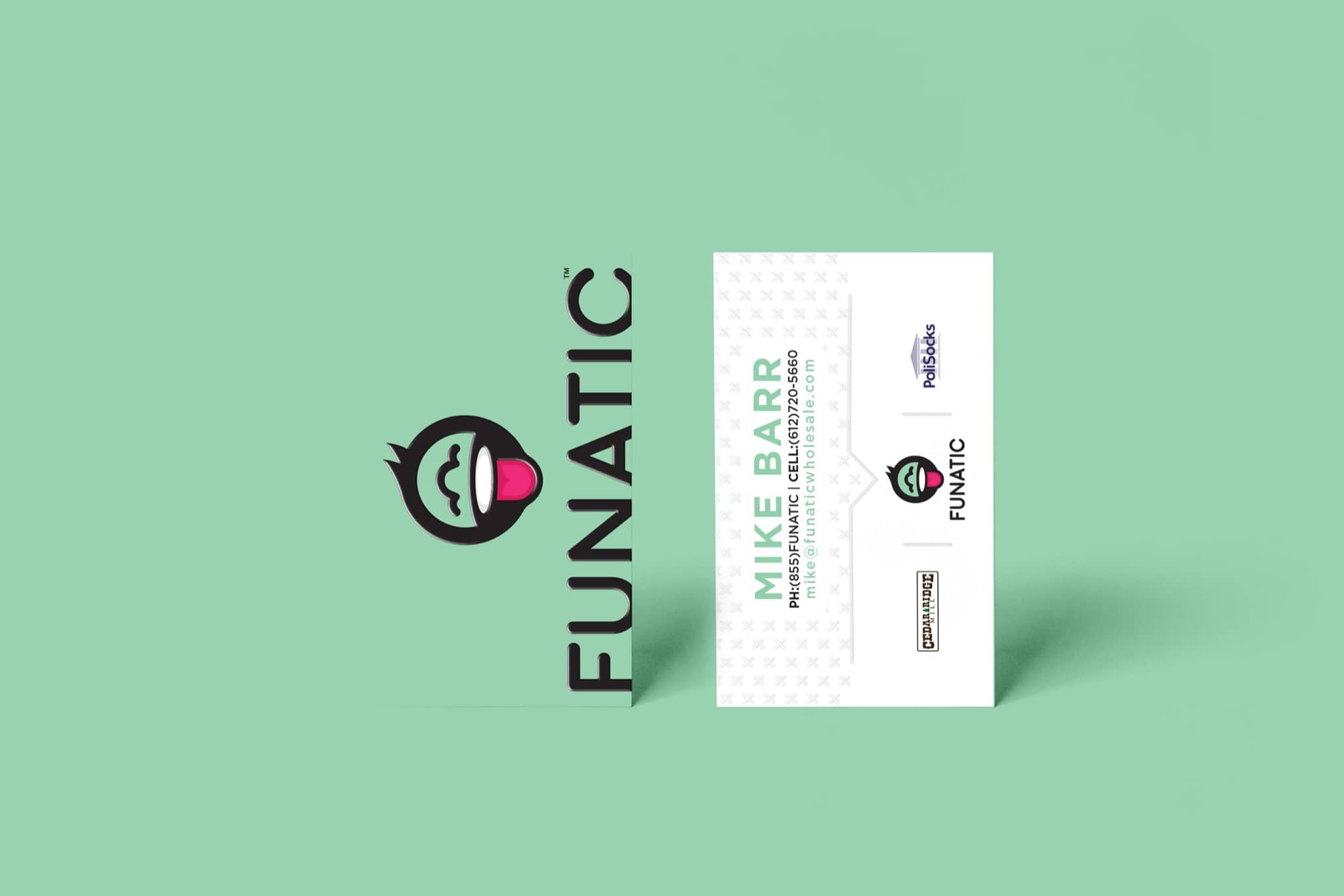 Funatic Socks Branding and Logo Design By Brand Engine