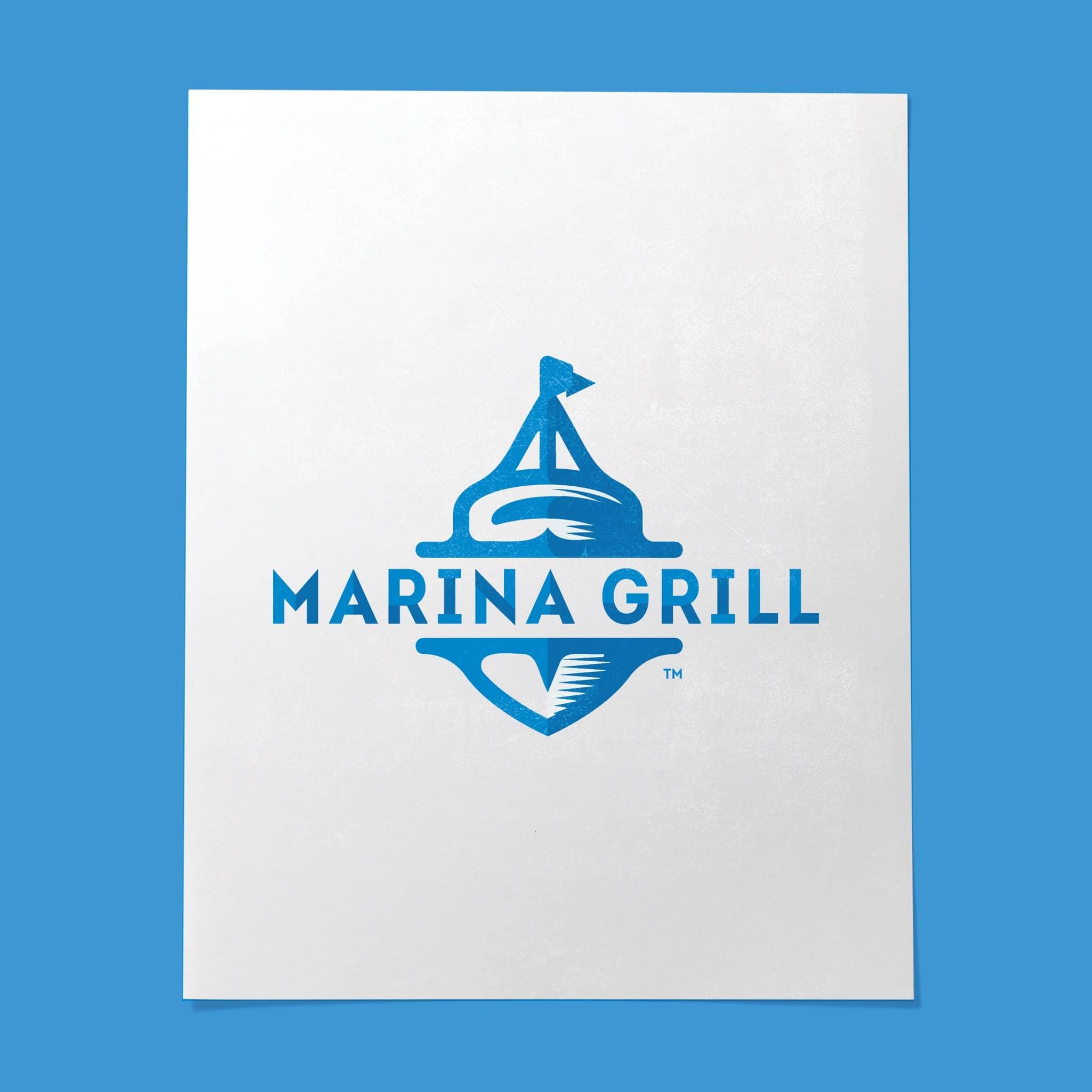 Marina Grill Logo Design by Brand Engine