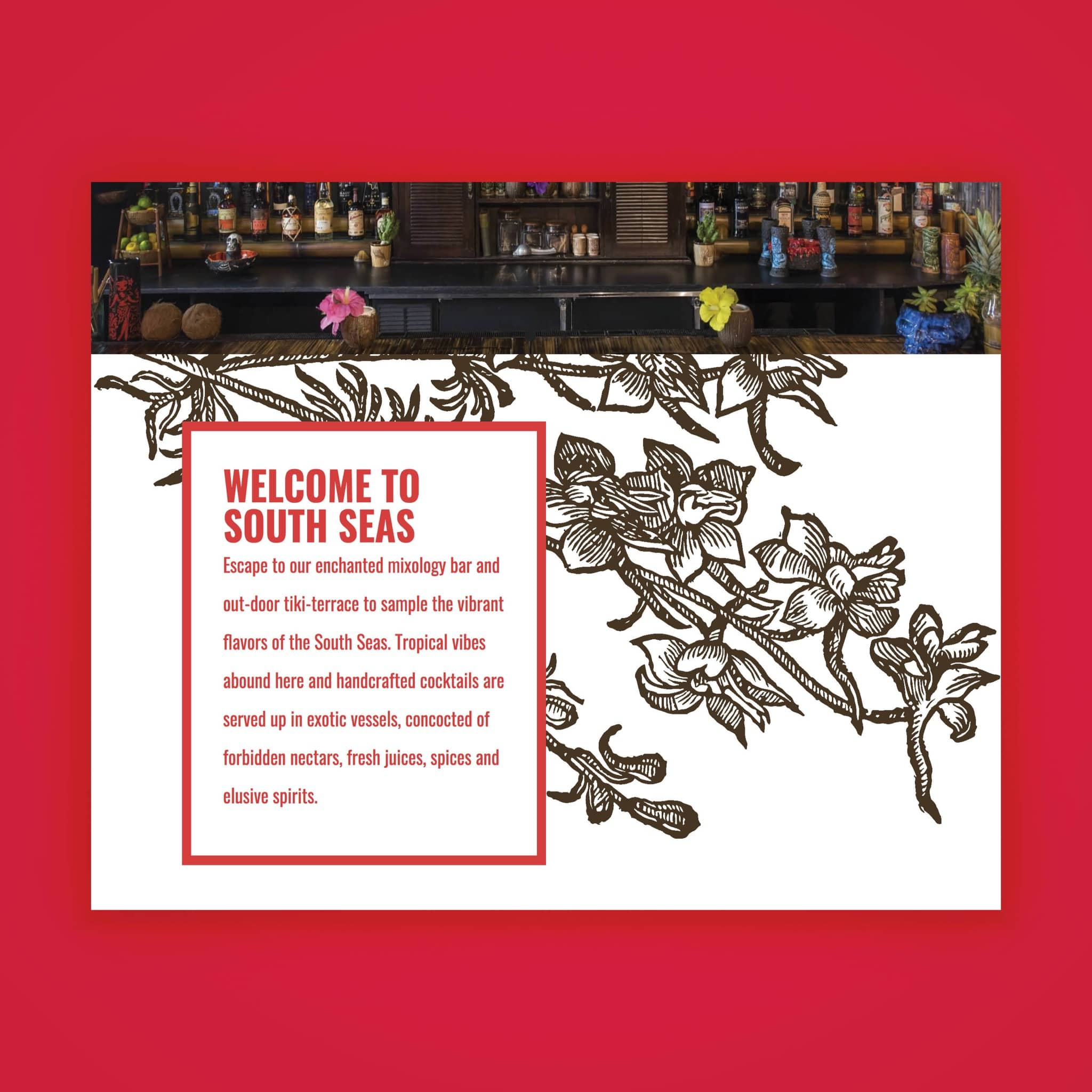 South Seas - website by Brand Engine