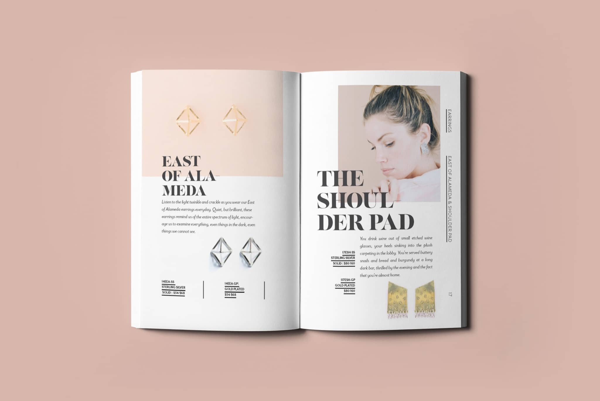 Jewelry Catalog Design for I LIKE IT HERE CLUB by Brand Engine