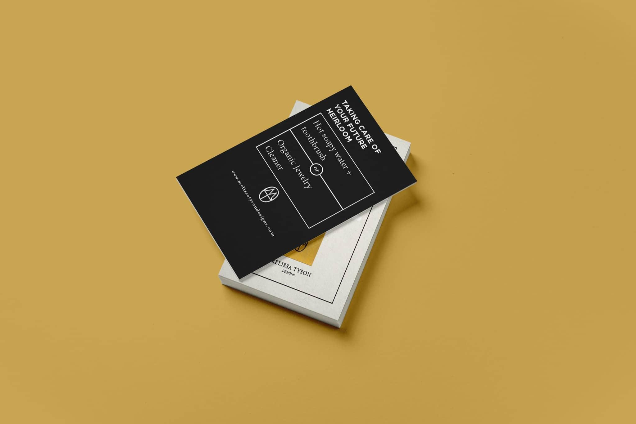 Melissa Tyson - graphic design by Brand Engine