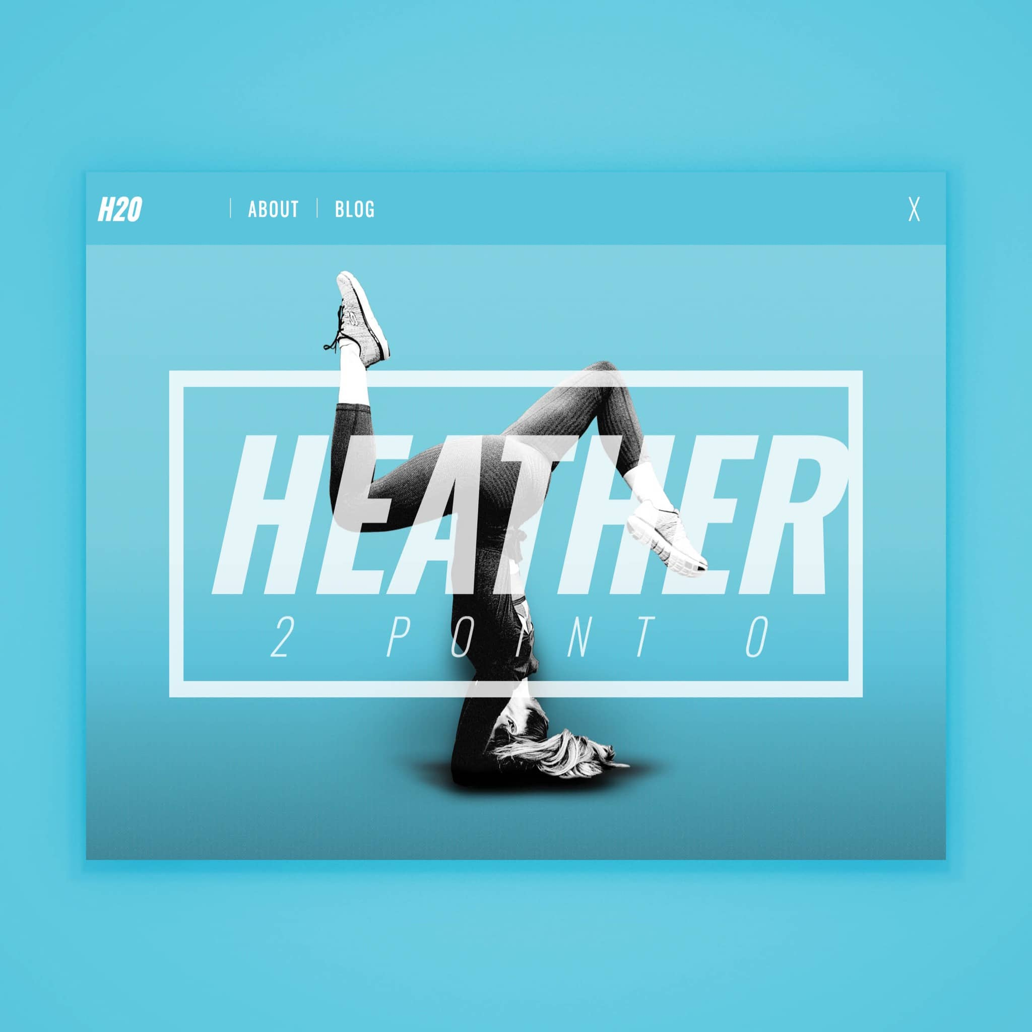 Heather 2.0 - website by Brand Engine