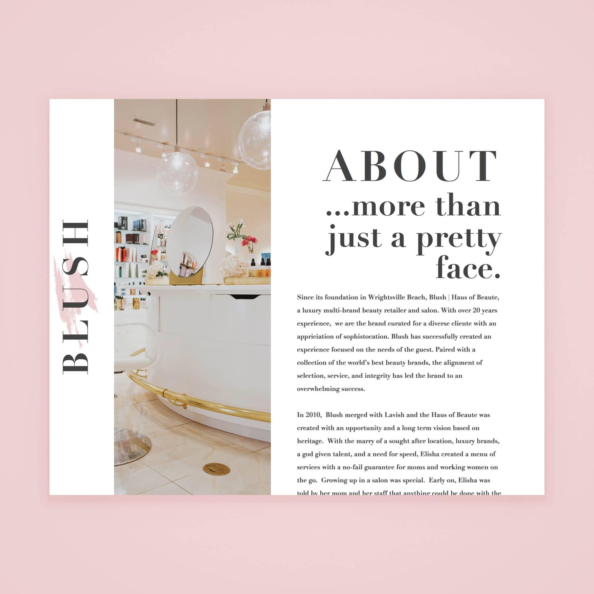 Blush HOB - Web Design by Brand Engine