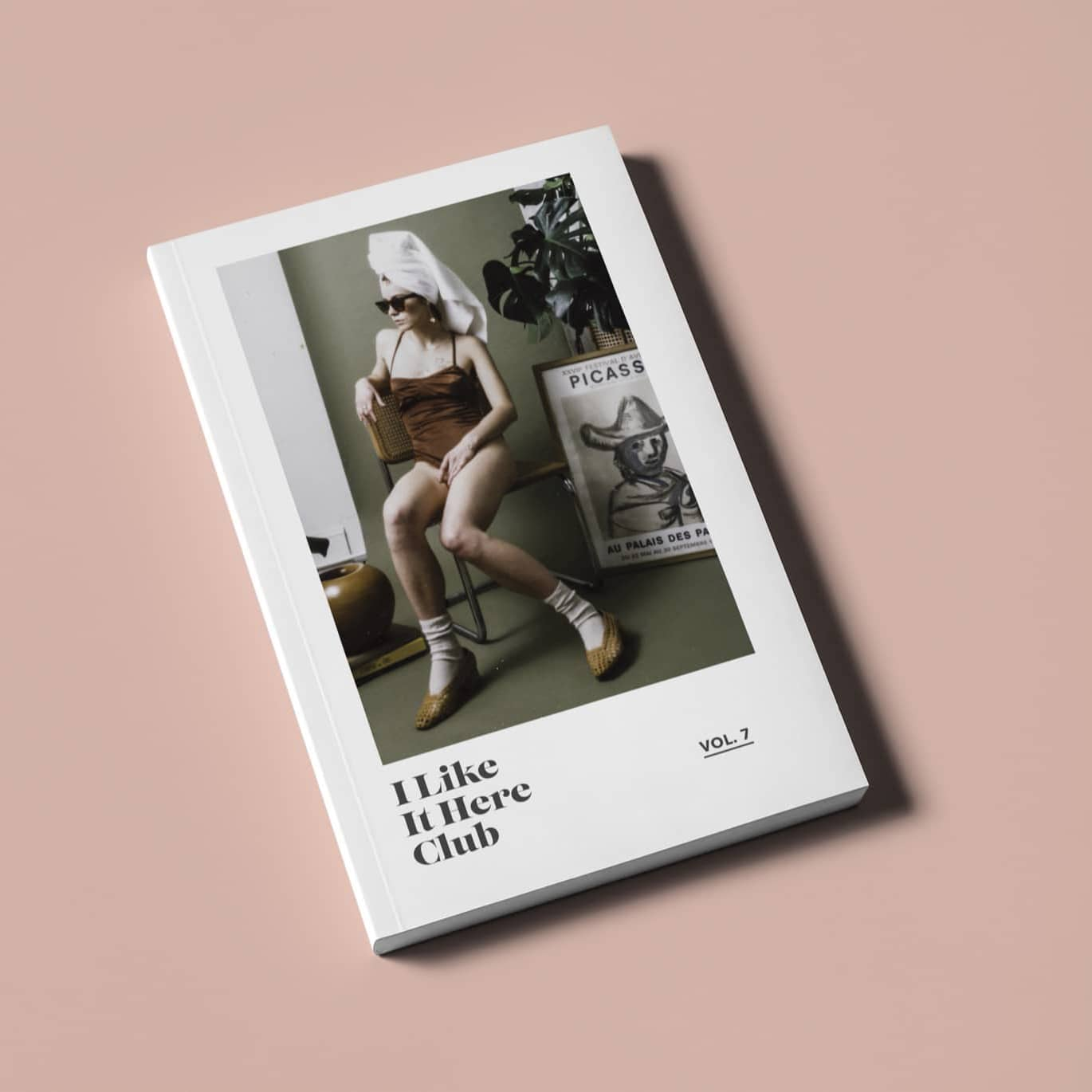 I LIKE IT HERE CLUB Look Book Design by Brand Engine