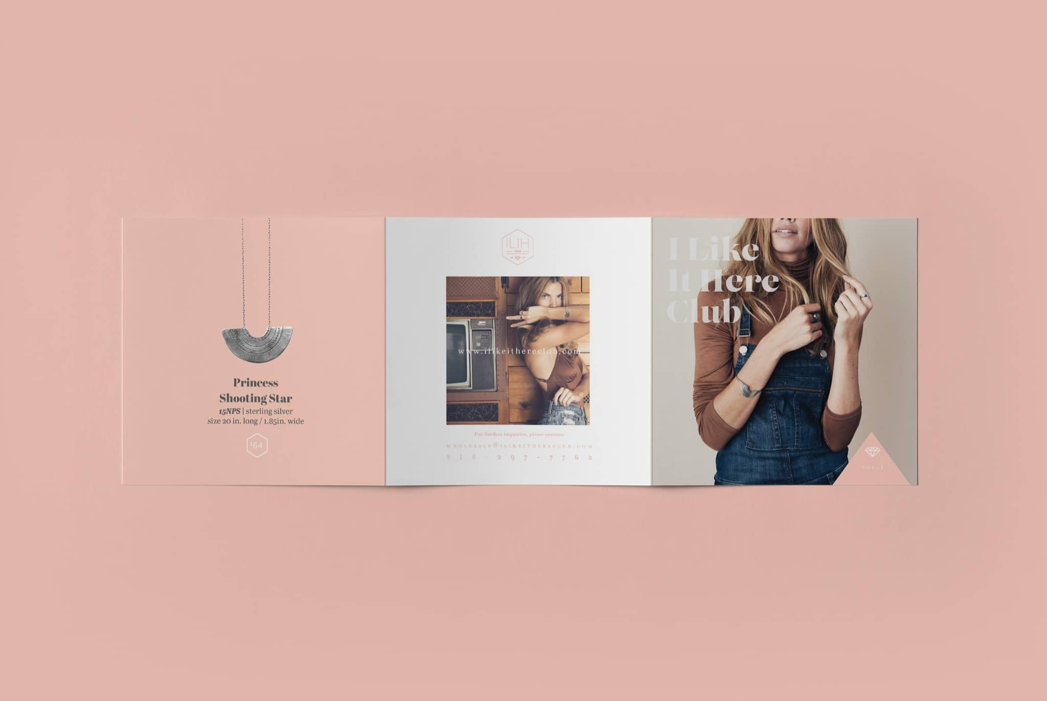 I LIKE IT HERE CLUB Trade Show Catalog and Lookbook Design By Brand Engine