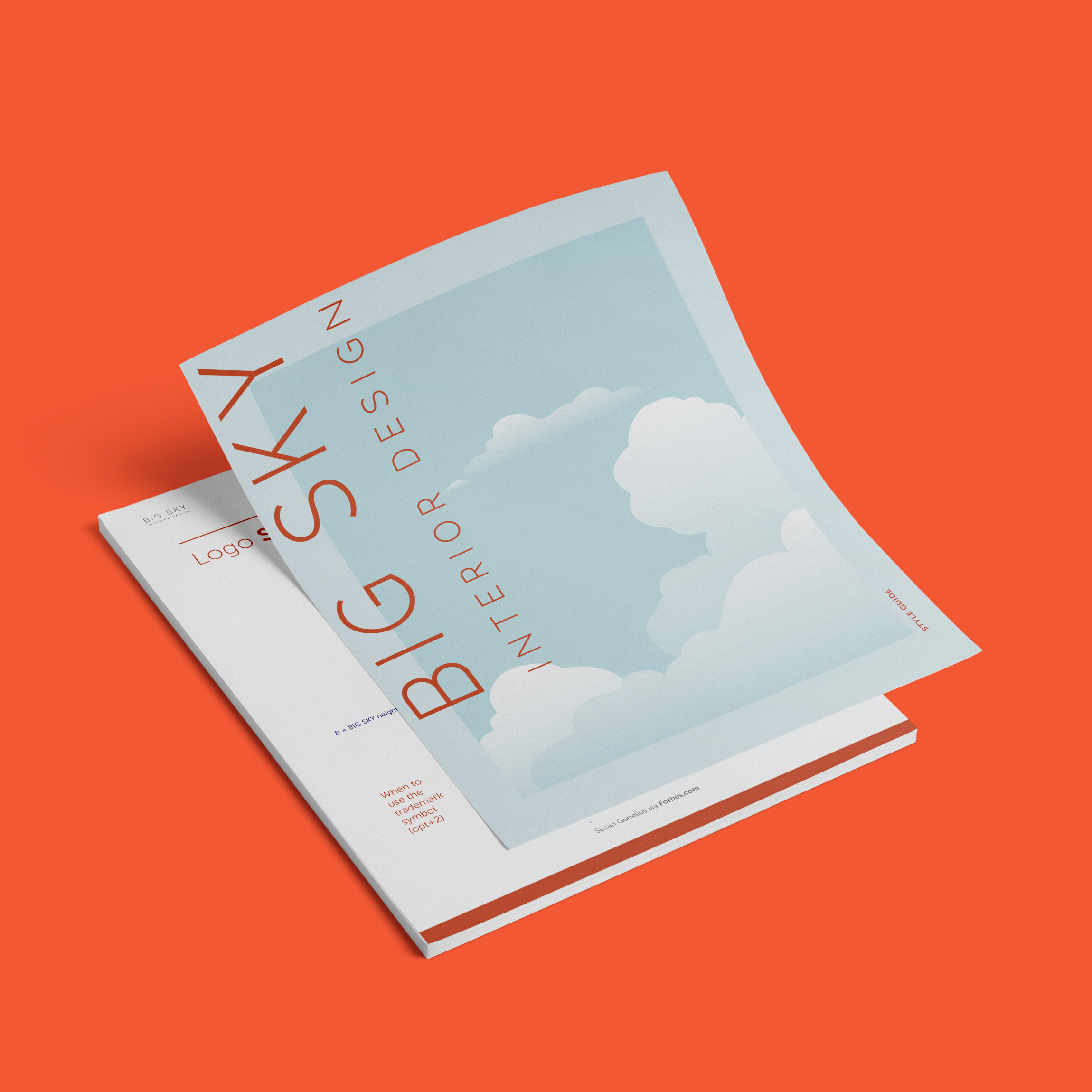 Logo and Brand Design for Big Sky Design by Brand Engine