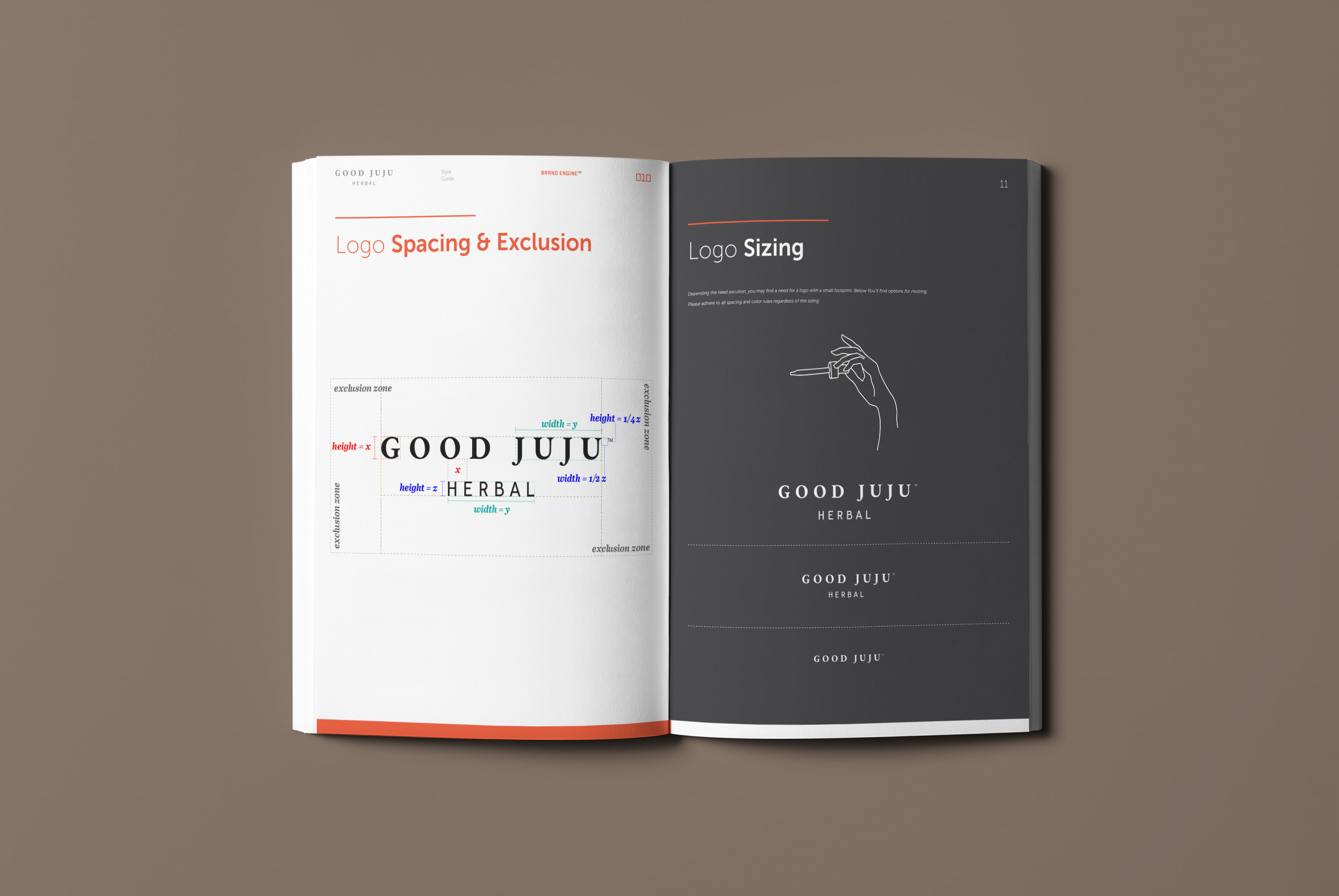 Good Juju Herbal Branding Kit by Brand Engine