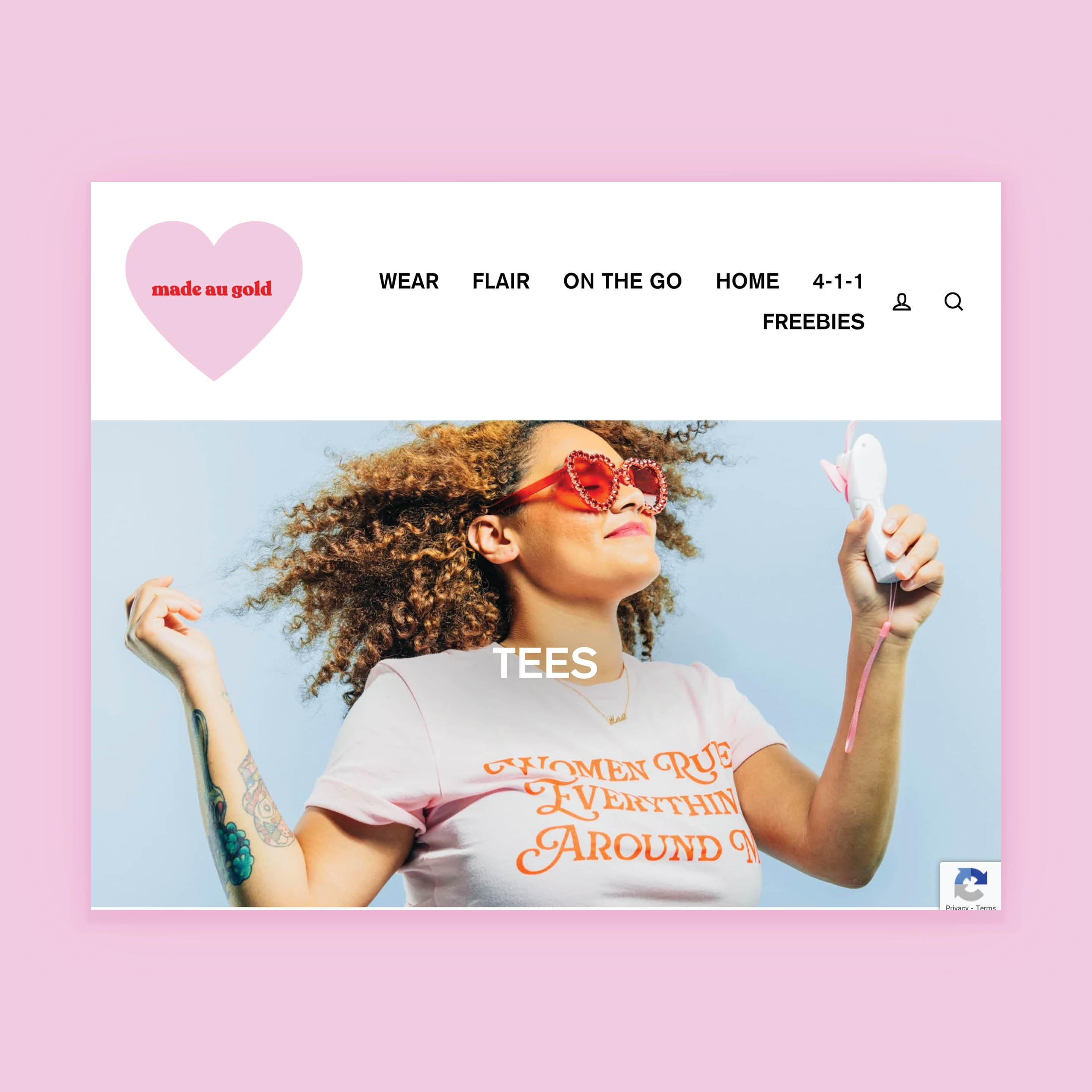 E-commerce Website Design for Made Au Gold by Brand Engine