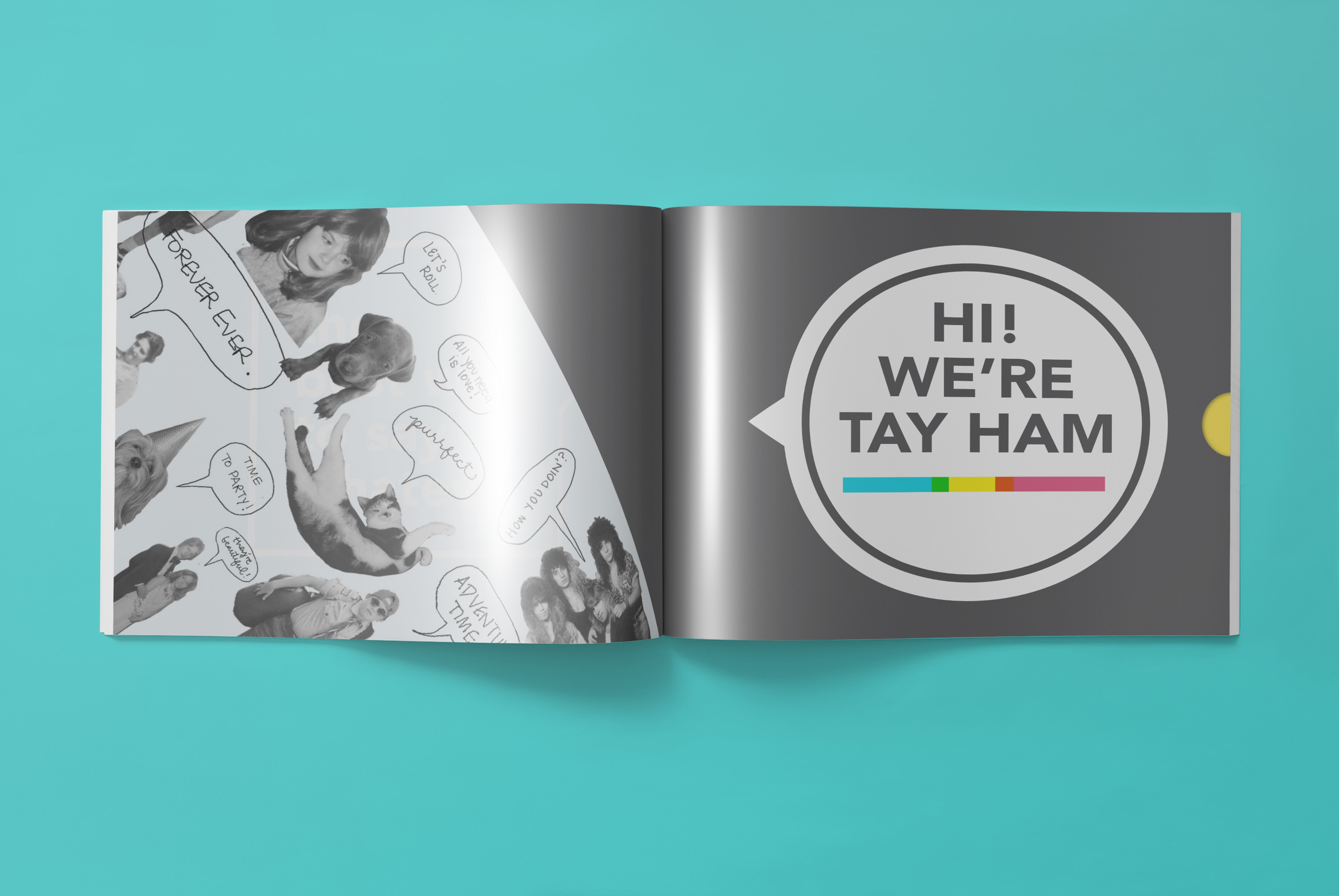 TAY HAM Greeting Cards Catalog & Graphic Design Brand Engine