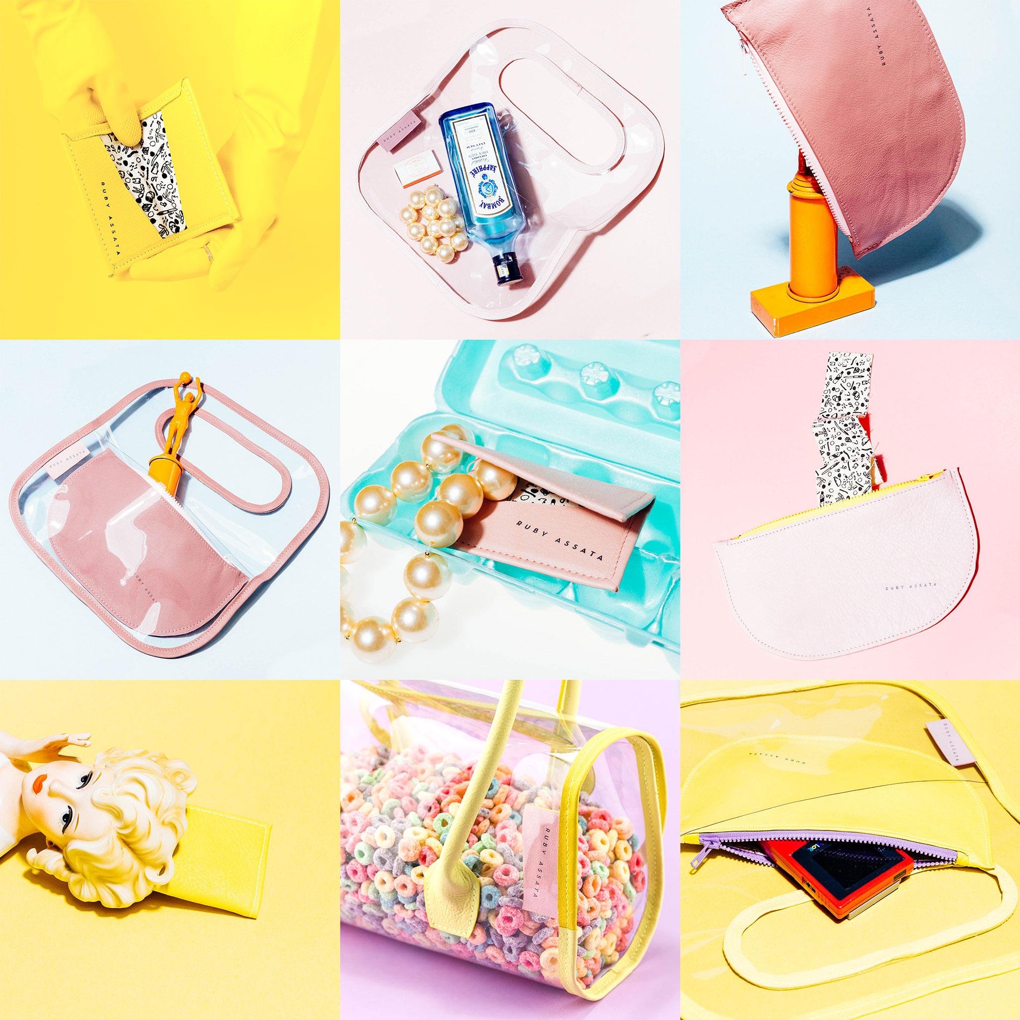 Ruby Assata Handbags Social Media Design by Brand Engine