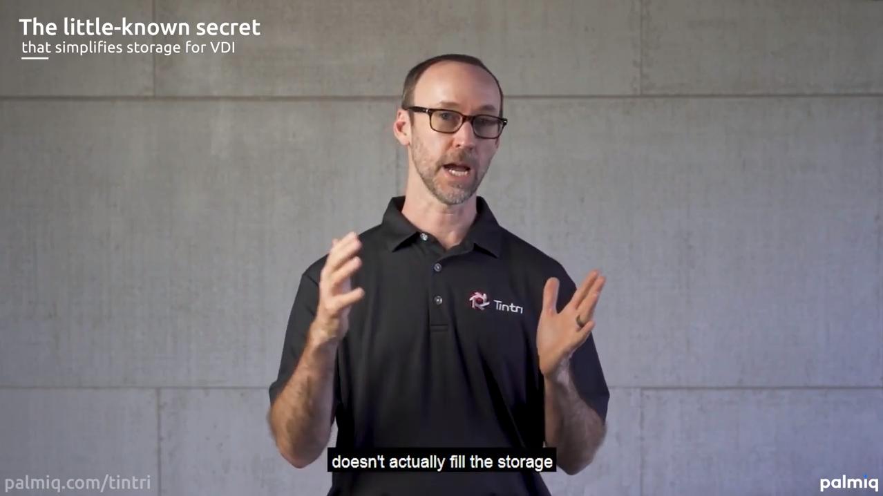 Little-known secret that simplifies storage for VDI