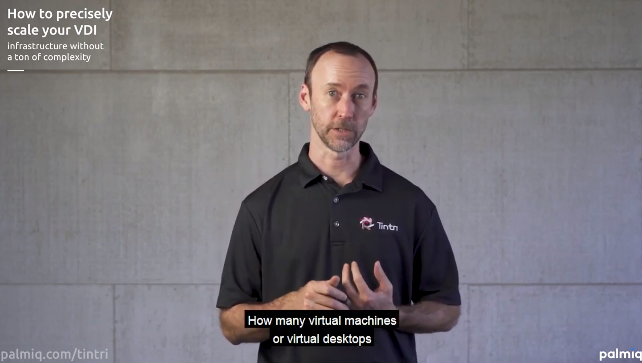 Scale VDI with Tintri