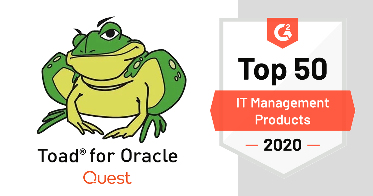 10 Reasons Why TOAD for Oracle is the Best Database development tool