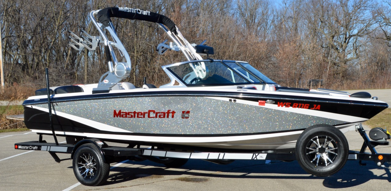 2014 MasterCraft X14V with ZFT-4 Tower and Clamp Racks